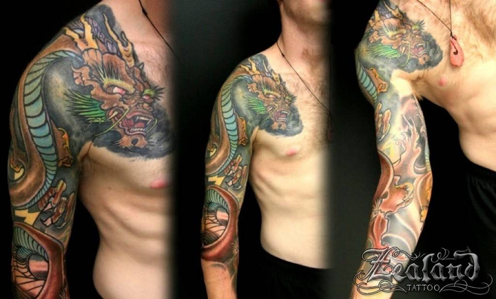 29+ Japanese Full Sleeve Tattoos
