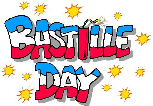 Bastille day greetings clipart image m4hsunfo