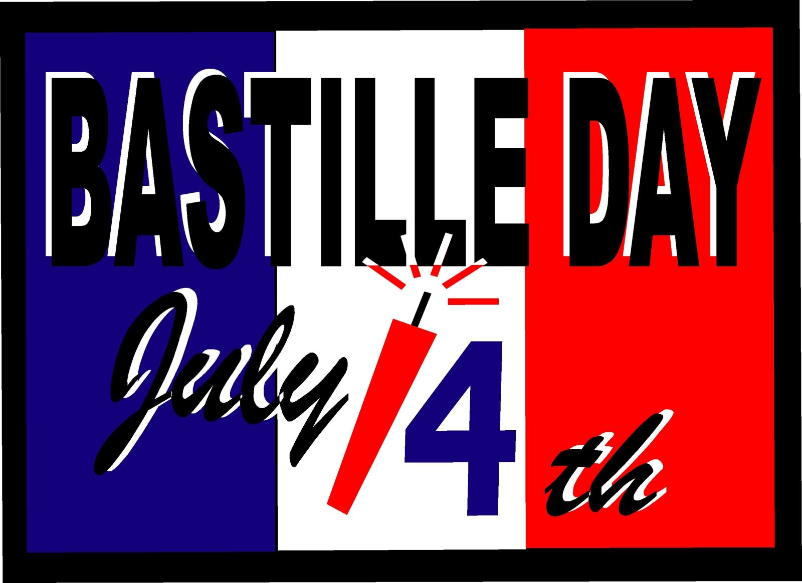 Bastille Day July 14th Wishes Image