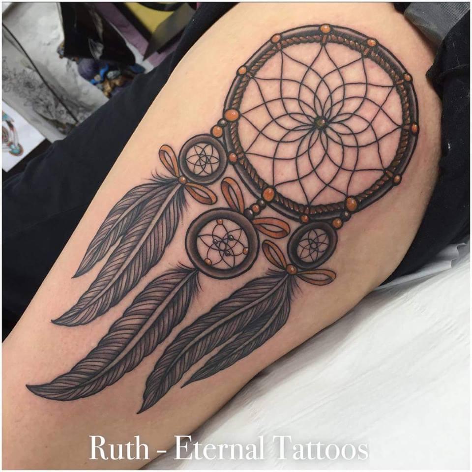 4 Unique Dreamcatcher Tattoos