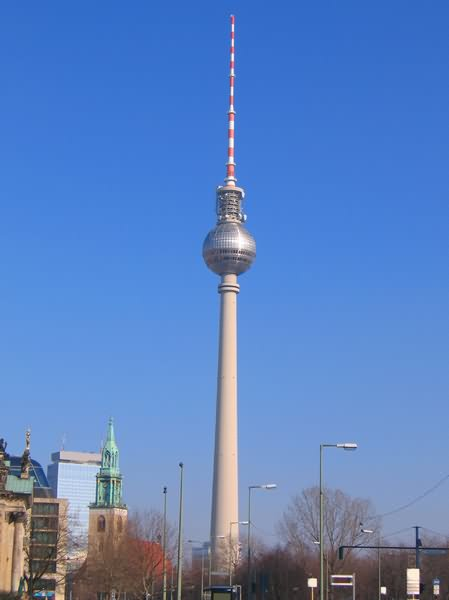 40 adorable pictures and photos of the fernsehturm tower. Black Bedroom Furniture Sets. Home Design Ideas