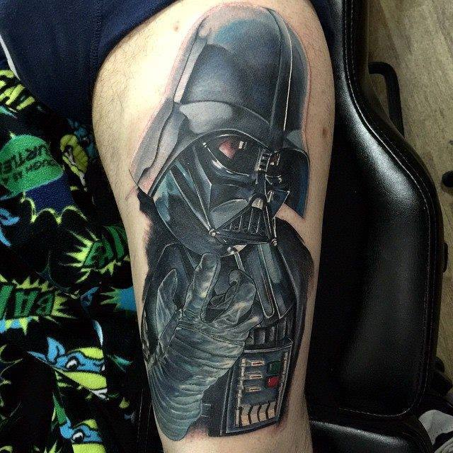 9da7b497b5 4 Fantastic Star Wars Darth Vader Tattoos