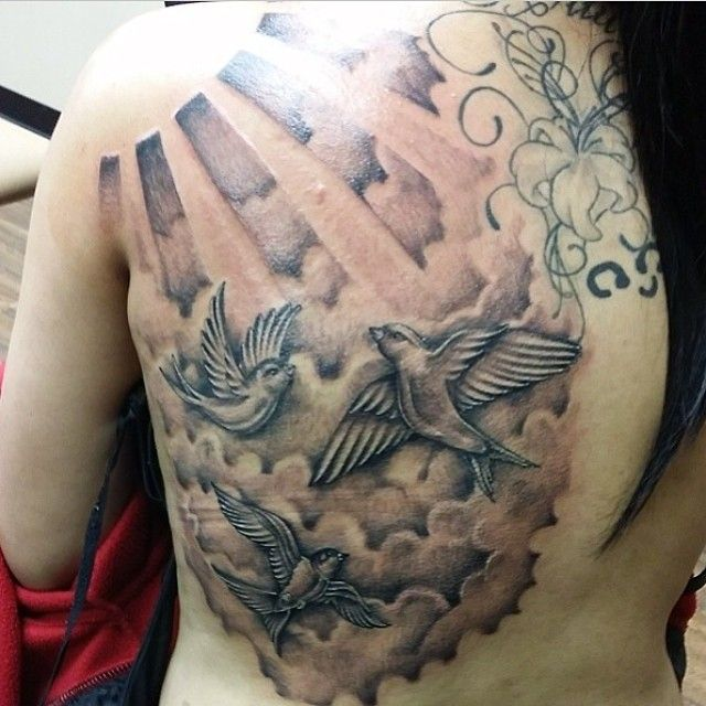 18+ Realistic Cloud Tattoos