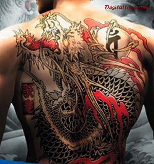 33 full back japanese tattoos. Black Bedroom Furniture Sets. Home Design Ideas