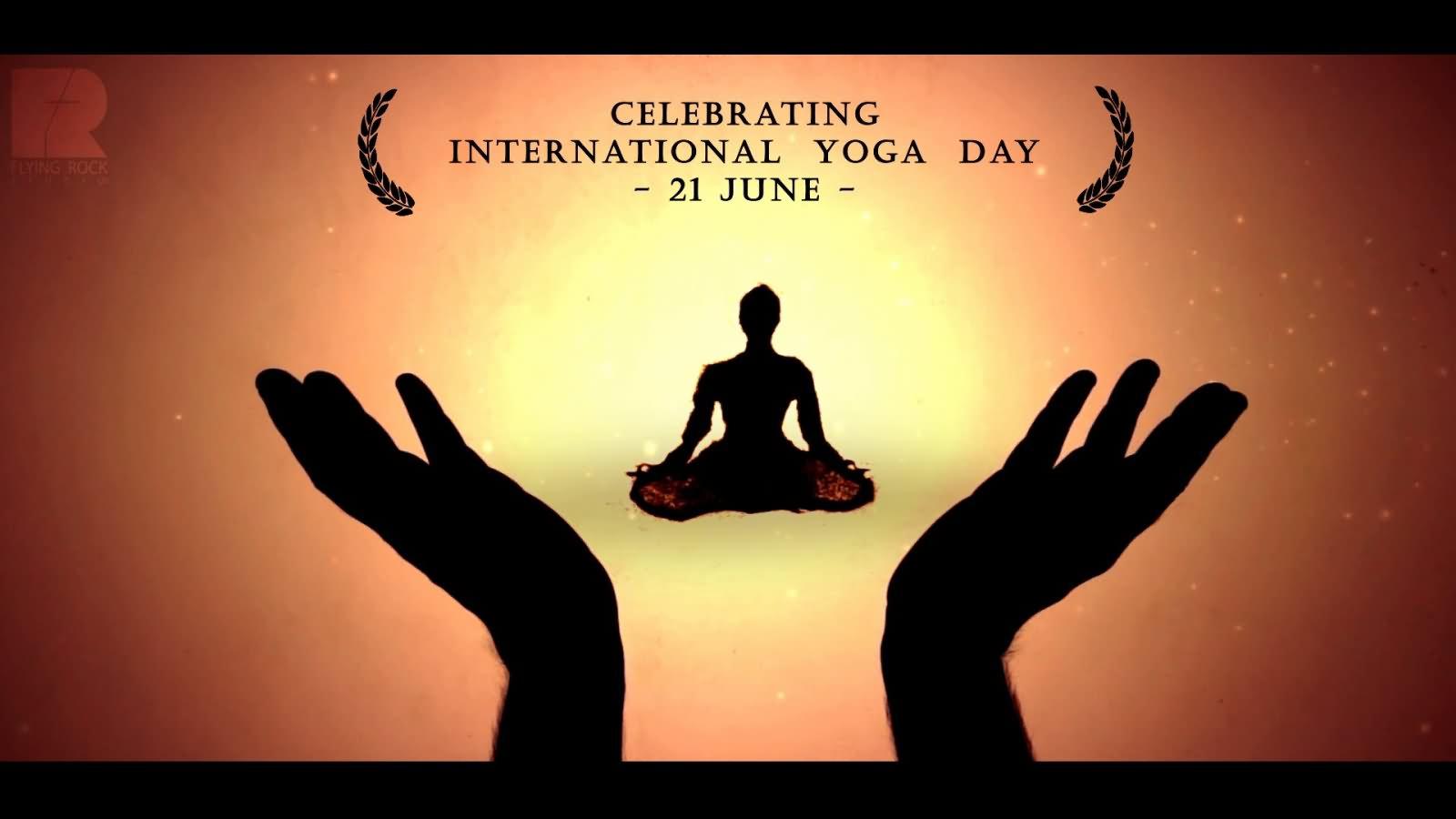 celebrating international yoga day 21 june