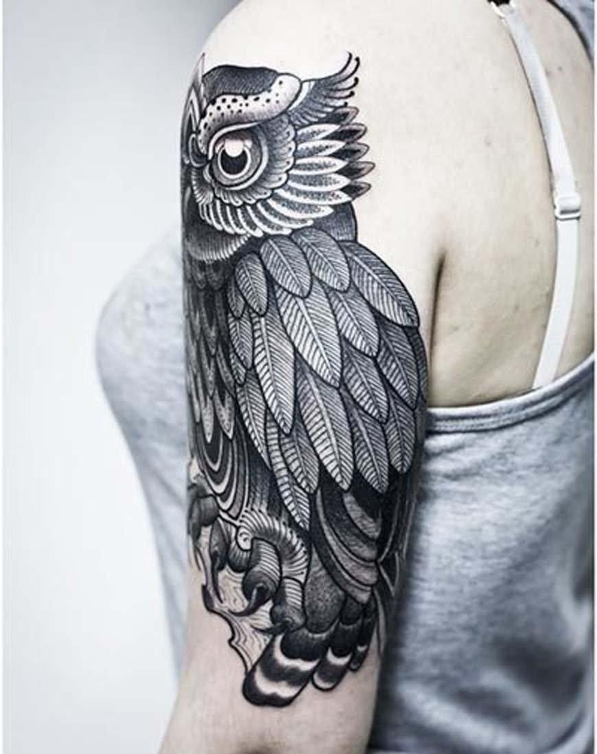 31+ Amazing Abstract Half Sleeve Tattoos