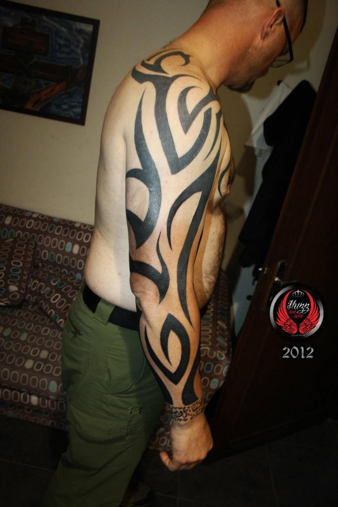 17 full sleeve tribal tattoos. Black Bedroom Furniture Sets. Home Design Ideas