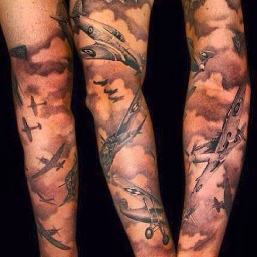 21+ Awesome Cloud Shading Tattoos