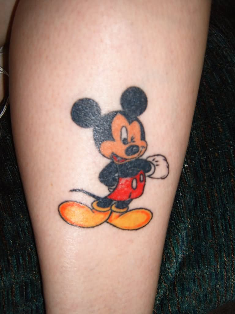 35 disney cartoon mickey mouse tattoos. Black Bedroom Furniture Sets. Home Design Ideas