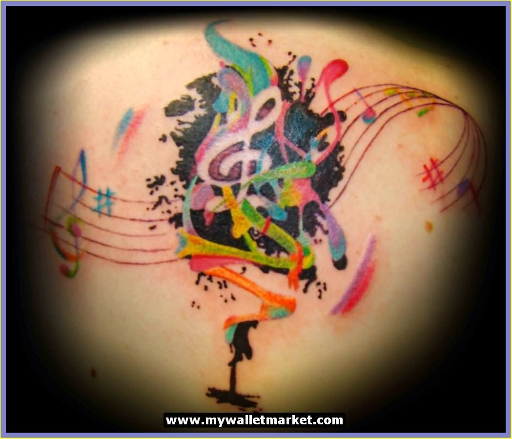 45+ Cool Abstract Tattoos