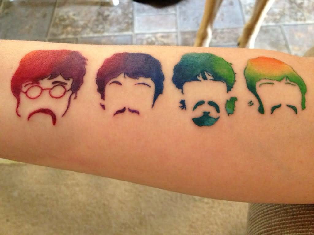 12 Beatles Tattoos That All Music Fans Will Love