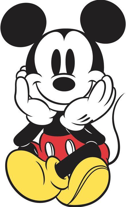 0c56662974deb Cute Colored Mickey Mouse Tattoo Design