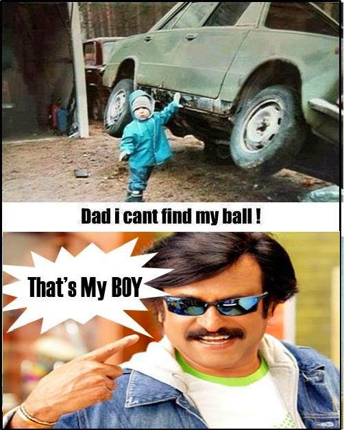 Funny rajinikanth meme rajinikanth in kbc picture for facebook for That s my boy tattoo