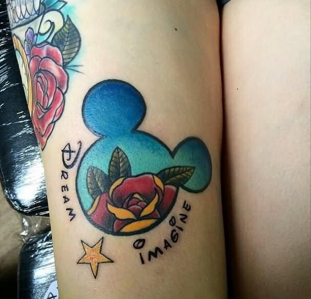 35 Disney Cartoon Mickey Mouse Tattoos