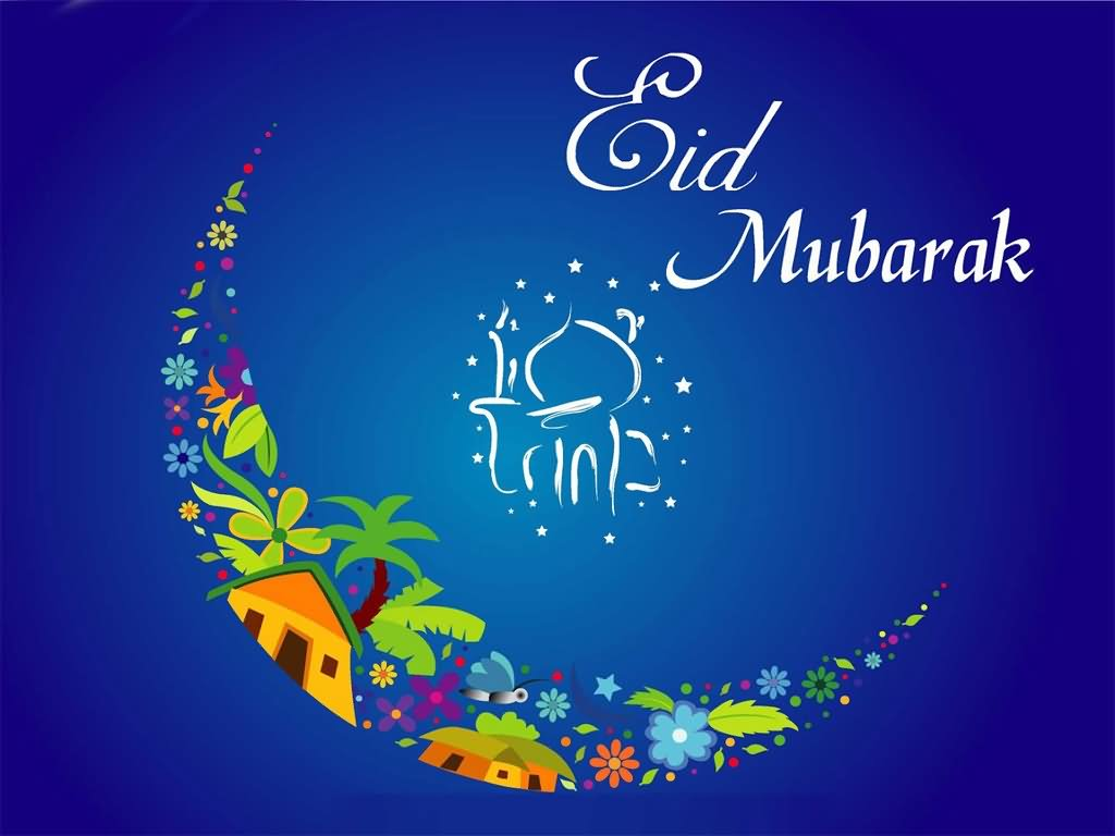 Eid Mubarak Eid Ul Fitr Greetings Picture