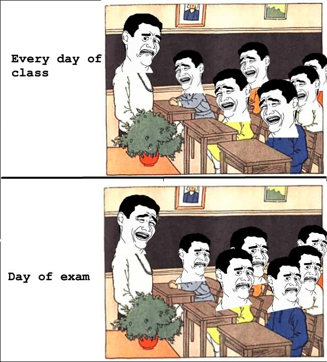25 Most Funny Exam Meme Pictures And Photos That Will Make You Laugh