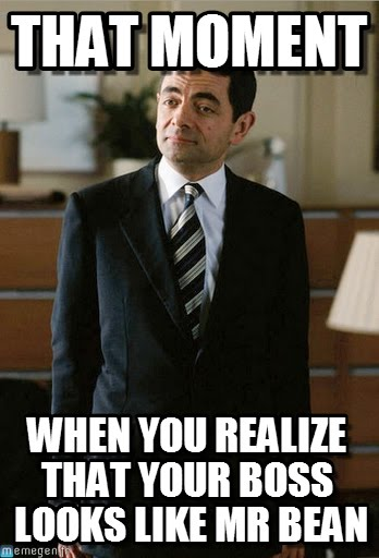 Funny Boss Man Meme : Most funniest mr bean memes of all the time