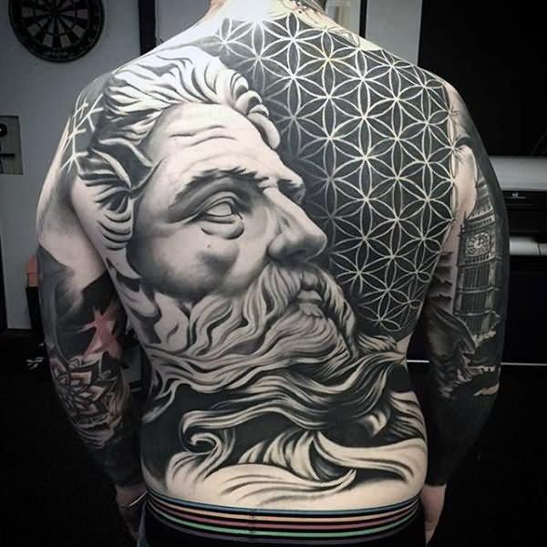 50 amazing full back tattoos