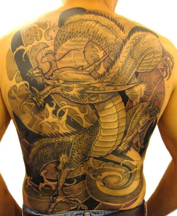 50+ Amazing Full Back Tattoos