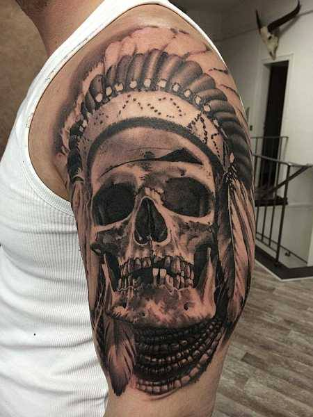 4 amazing skull tattoos ideas