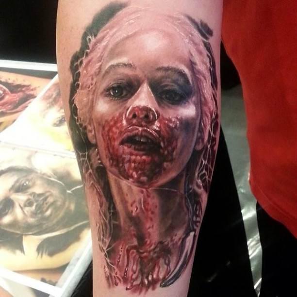 42+ Unique Horror Tattoos