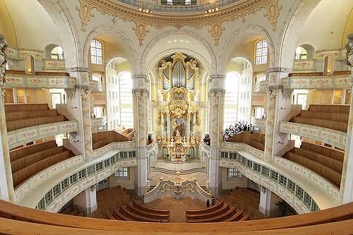 Image result for dresden frauenkirche interior