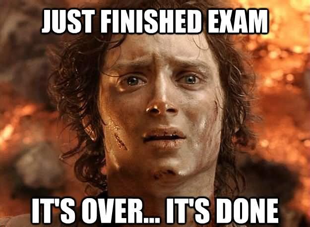 Dissertation exam