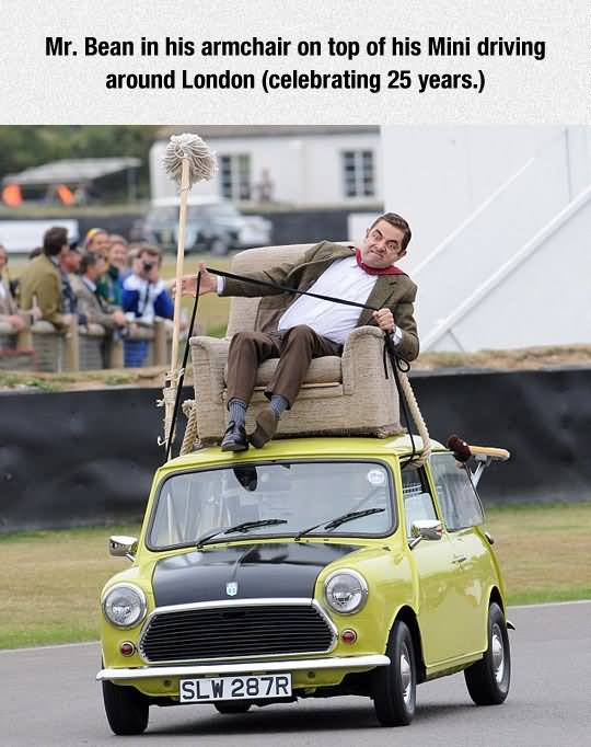 30 Very Funny Mr Bean Pictures And Images Of All The Time