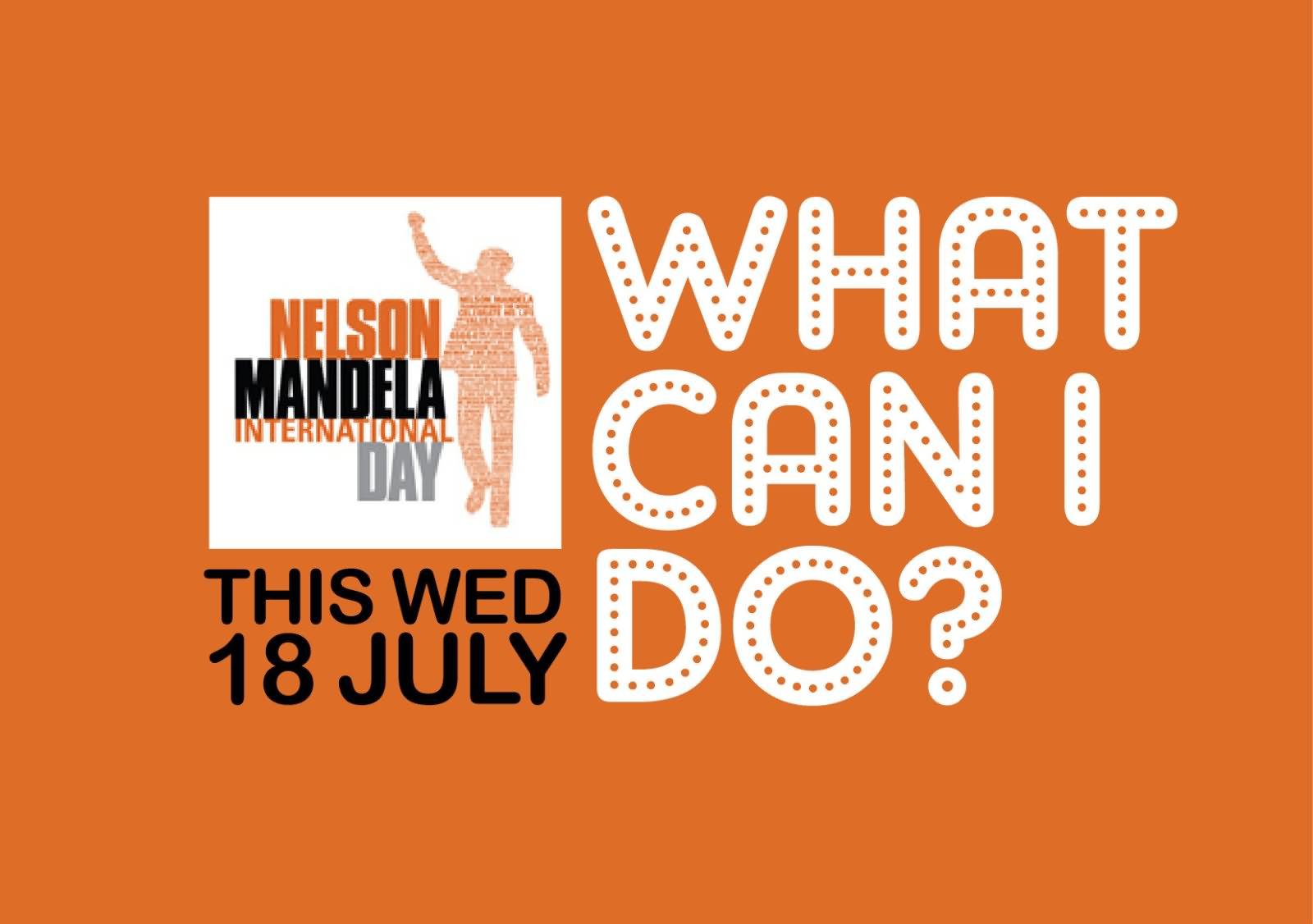 Nelson mandela international day 18 july picture