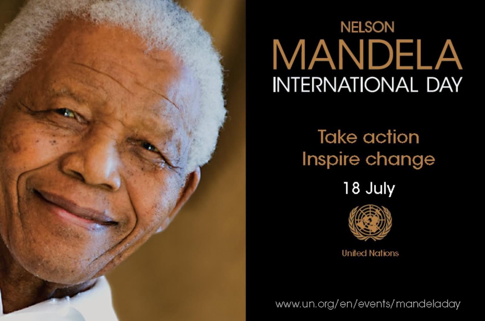 Nelson mandela international day take action inspire change 18 july