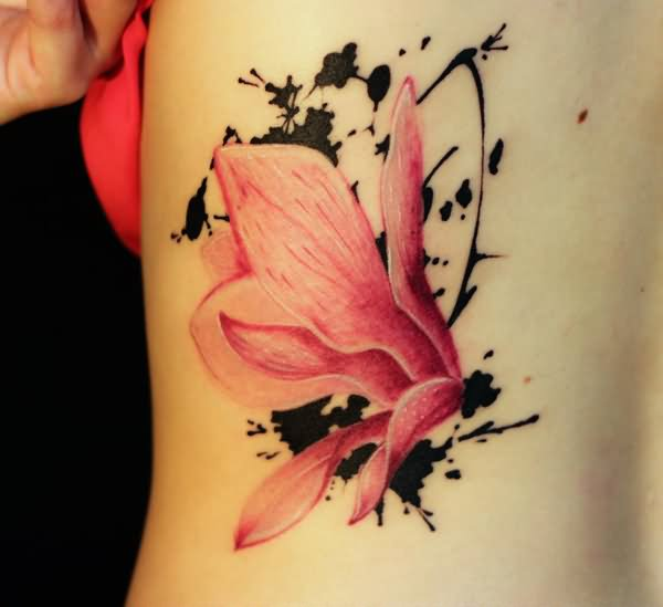 45 awesome poppy tattoos for Pink ink tattoo
