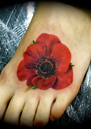 45 awesome poppy tattoos rh askideas com poppy flower tattoo forum poppy flower tattoo designs
