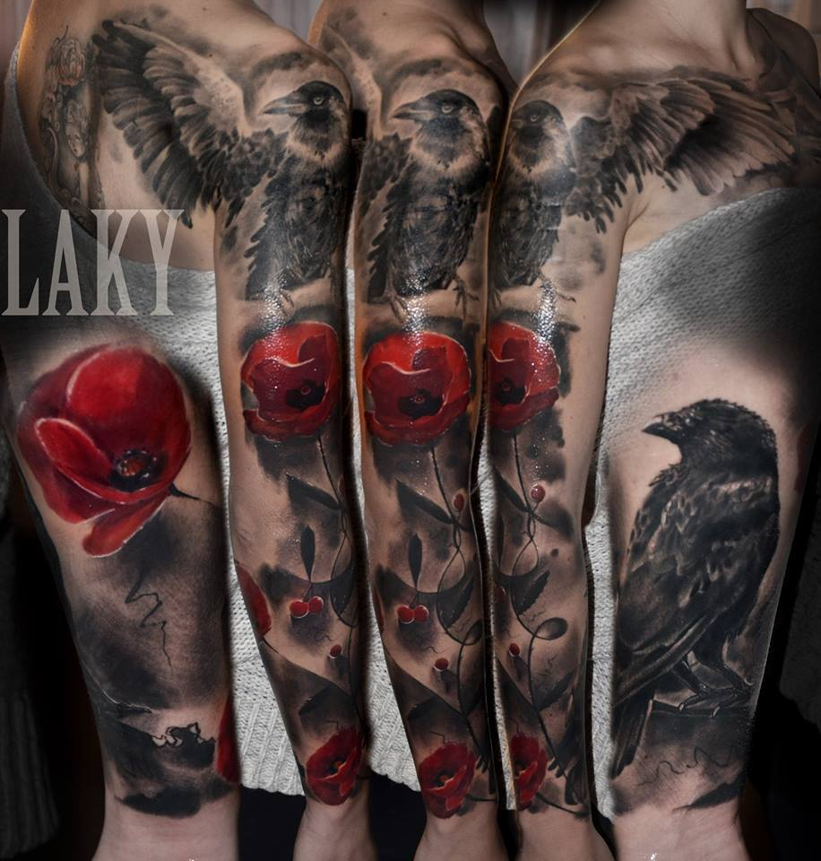 30 great full sleeve tattoos by maksims zotovs