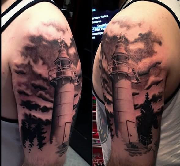 18 realistic cloud tattoos. Black Bedroom Furniture Sets. Home Design Ideas