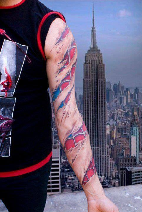 4 Amazing Spider Tattoos For Men