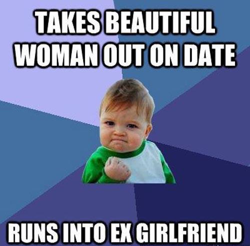 Ex girlfriend dating a girl