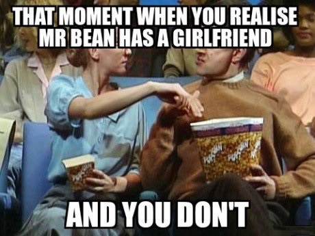 Does not love you mr bean meme