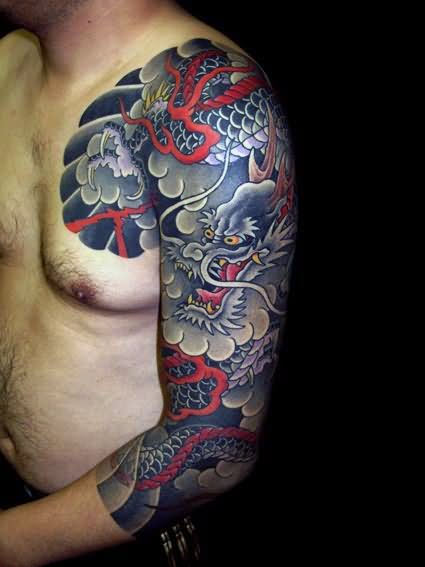 23 Japanese Cloud Tattoos