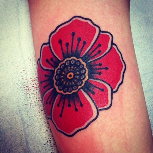 45+ Awesome Poppy Tatt...