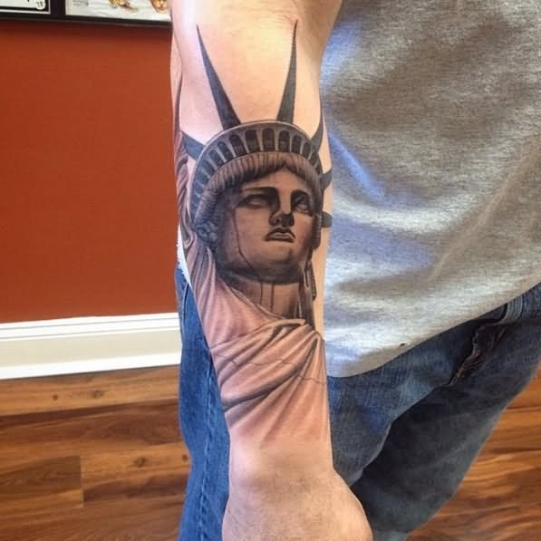 Statue Of Liberty Tattoos Pictures Best And Beautiful Statue