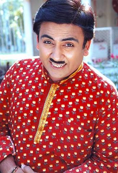Funny Smiling Pose Jethalal Gada Image