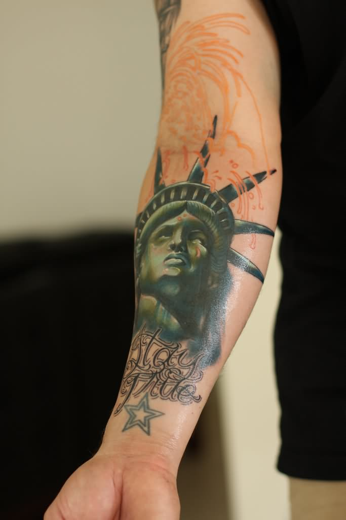 7d718a08cd45c 11+ Statue Of Liberty Tattoos On Forearm