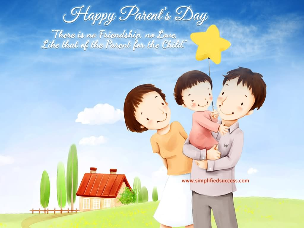 10 Most Awesome Happy Parents Day Clipart Pictures