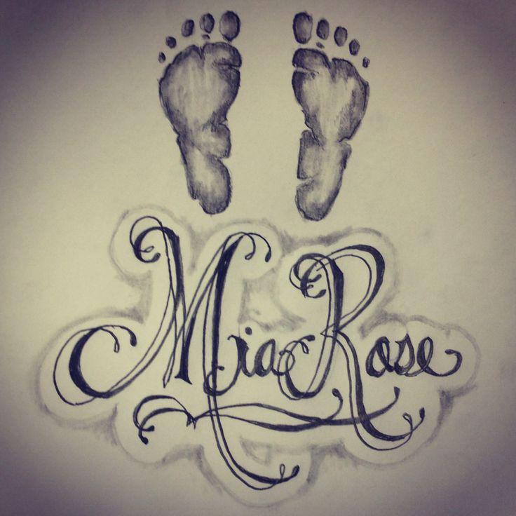 18 baby name tattoos. Black Bedroom Furniture Sets. Home Design Ideas