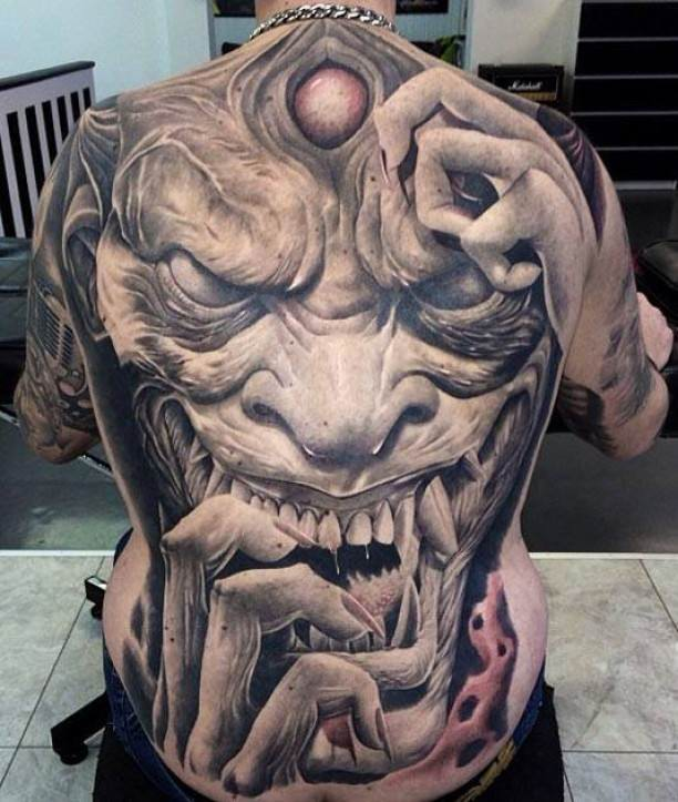 30 Awesome Full Back Tattoos