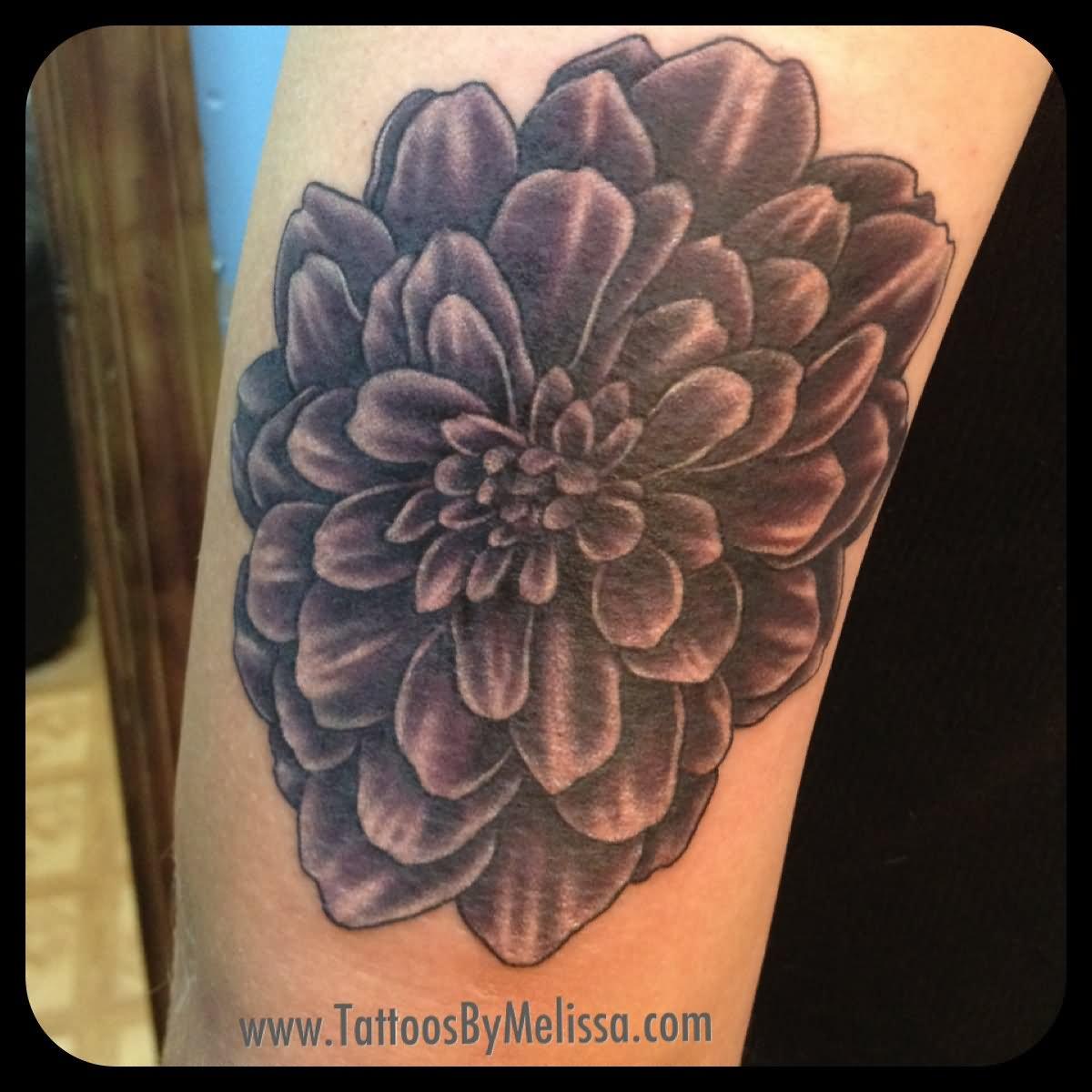 10 Black Dahlia Tattoos