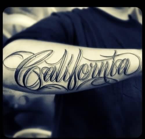 31 Name Tattoos On Forearm