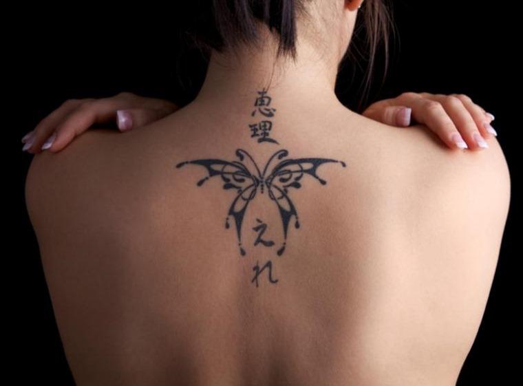 38+ Latest Women Back Tattoos
