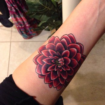cool dahlia flower tattoo on forearm rh askideas com dahlia flower tattoo pictures dahlia flower tattoo small