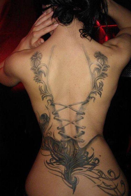 38 Latest Women Back Tattoos